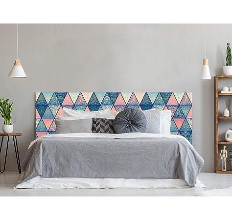 setecientosgramos Cabecero Cama PVC | Whitewood | Varias Medidas | Fácil colocación | Decoración Dormitorio (150x60cm): Amazon.es: Hogar