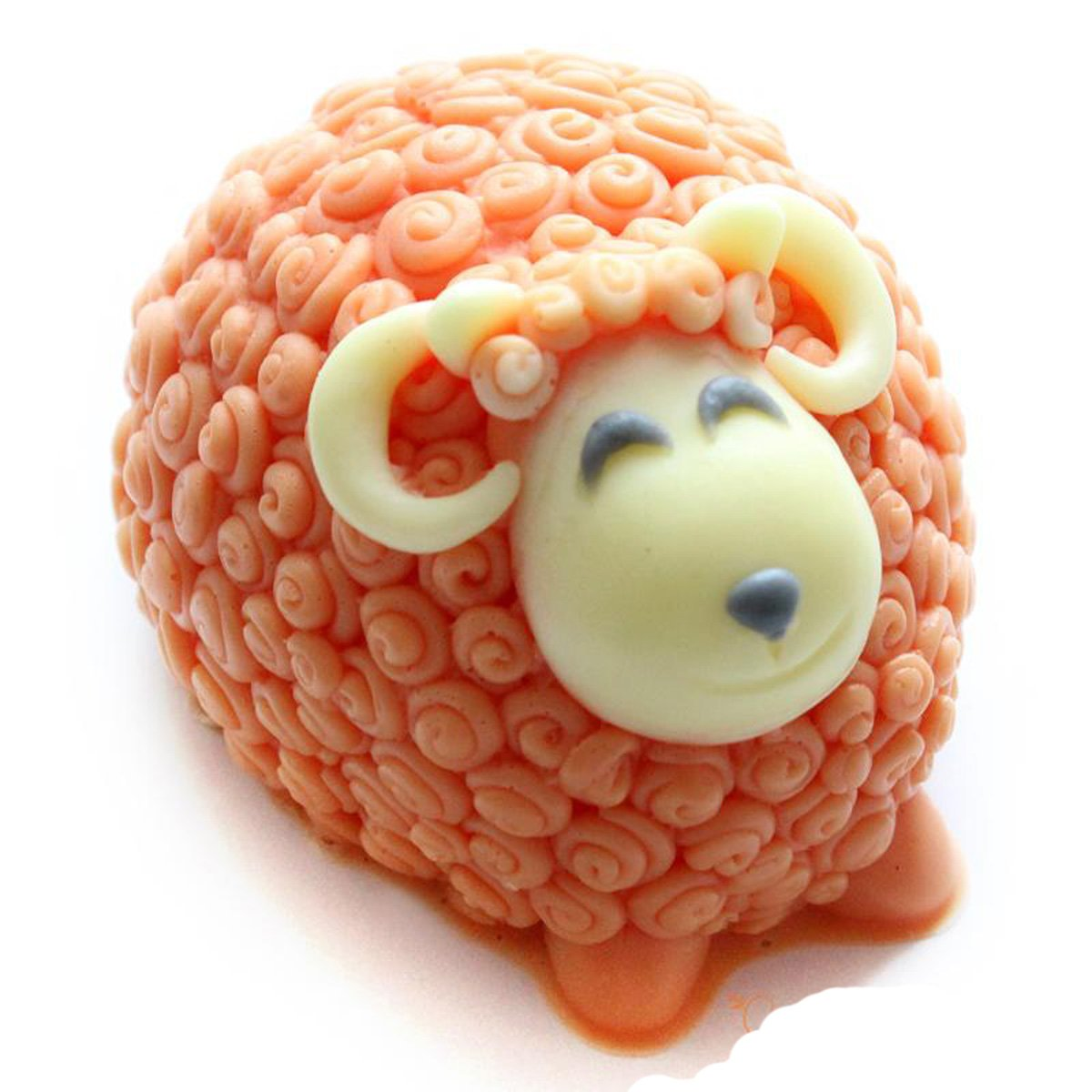 Longzang Sheep Mold Craft Art Silicone Soap Mould Craft Molds DIY Longzang-S119