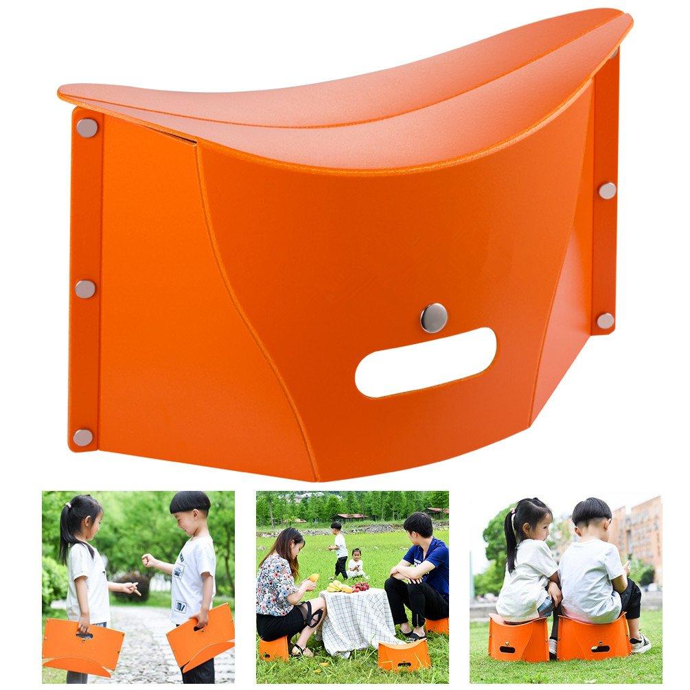 LEHKG Folding Chair, Portable Folding Stool for Kids Adults, Ultralight Foldable Stool for Camping Fishing Hiking.