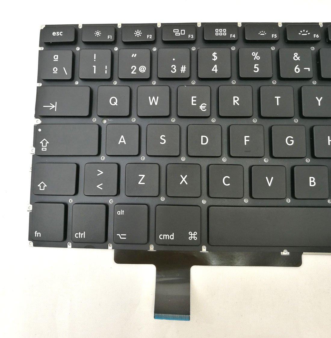 Amazon.com: Ittecc Spanish Teclado Keyboard ESPAÑOL Replacment Fit for MacBook Pro Unibody 17