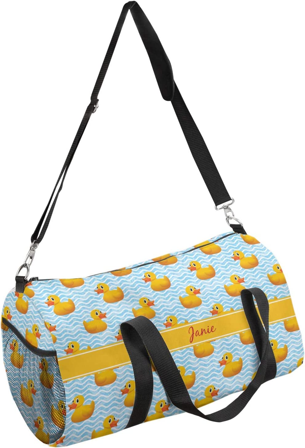 Personalized YouCustomizeIt Rubber Duckie Duffel Bag