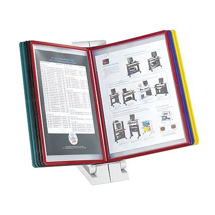 amazon com safc model quickfind document holder desk top clear rh amazon com desktop document holder document holder for desk walmart