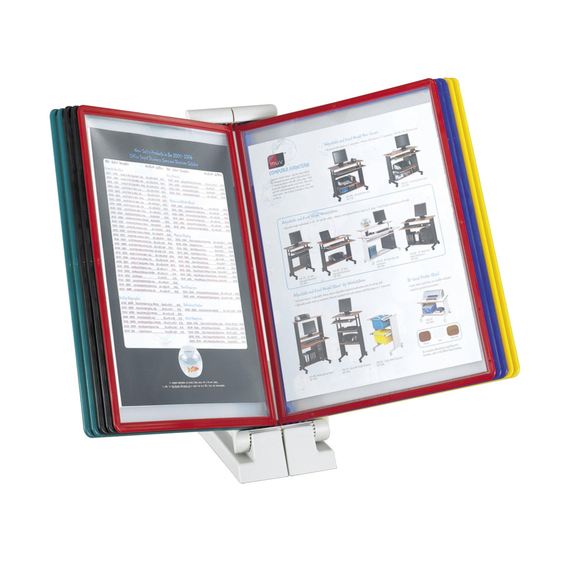 Safc Model QuickFind Document Holder-Desk Top, Clear (6160)