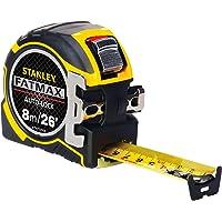 Stanley ZSTA-0-33-504 STA033504 FatMax Autolock Pocket Tape 8m/26ft (Width 32mm) Pro 8 m/26 ft, Multi-Colour
