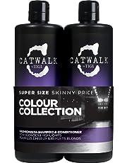 Tigi Catwalk Fashionista Violet Tween Shampoo & Condizionatore - Confezione da 2 x 750 ml