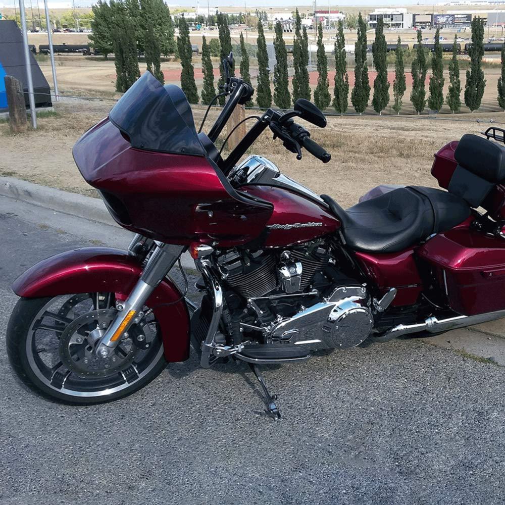 TTX-LIGHTING Gloss Black 14 Rise Apes Handle Bars Hanger For Harley 1983-2014 Touring Road King Street Glide FLHR FLHX FLTR FLHT 1996-2018 Softail Dyna Sportster Bicycle Bagger