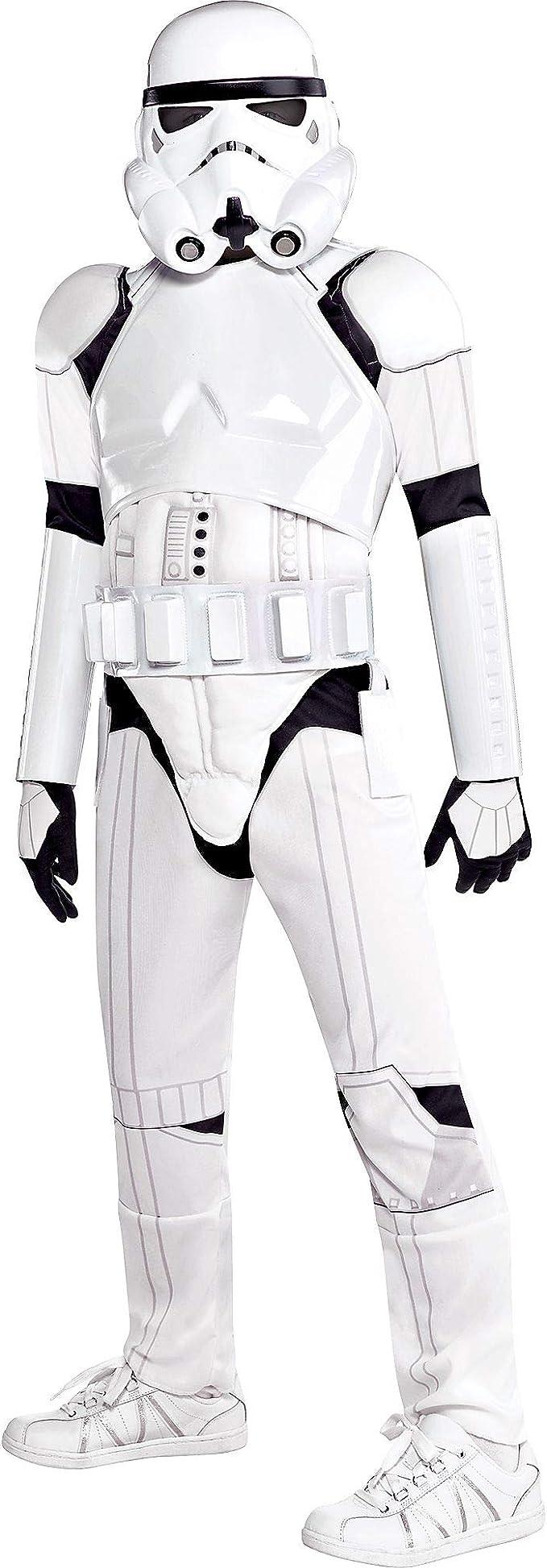 Disfraz de soldado de Star Wars para niños, talla pequeña, incluye ...