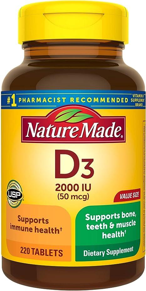 Mature Made Vitamin D3 Supplement