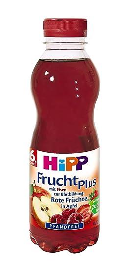 HiPP Rote Früchte mit Eisen, 6er Pack (6 x 500 ml): Amazon.de ...