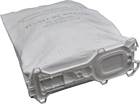 12 xtüten moteur filtre adapté pour vorwerk kobold 135,136 Hepafilter