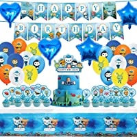 Party Supplies for Octon-auts Birthday Party Supplies Decoration Set with 25 cake topper cupcake toppers, Birthday…