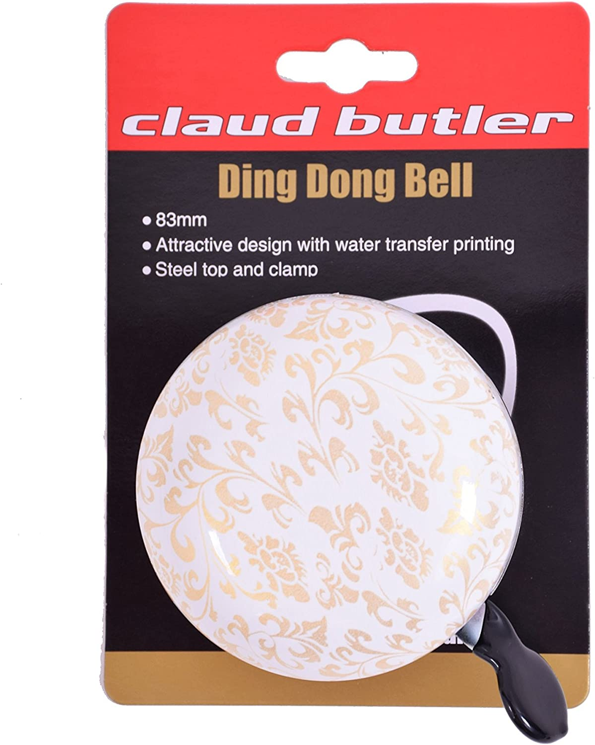 Quality Claud Butler Cycling Ding Dong Traditional Vintage Large Gold Womens Bike Bell 22.2mm
