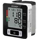 Hylogy Wrist Blood Pressure Monitor, Blood Pressure Machine with Portable Case, Two User Modes, Adjustable Wrist Cuff, IHB Indicator and 2*90 Memories