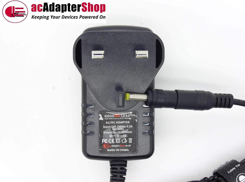 GOOD LEAD 6V 500mA Mains ACDC Adaptor Power Supply for OMRON M7 Intelli IT HEM7322TE