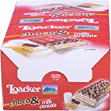 Loacker Choco& Milk & Cereals - 30 Snack