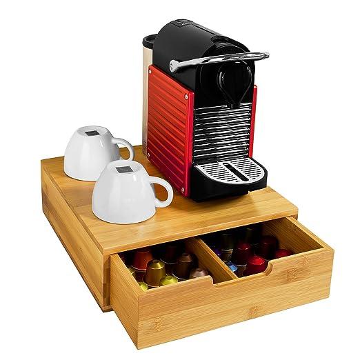 75 opinioni per SoBuy® Portacapsule, Contenitore per capsule caffé, bustine tè,Multiuso&