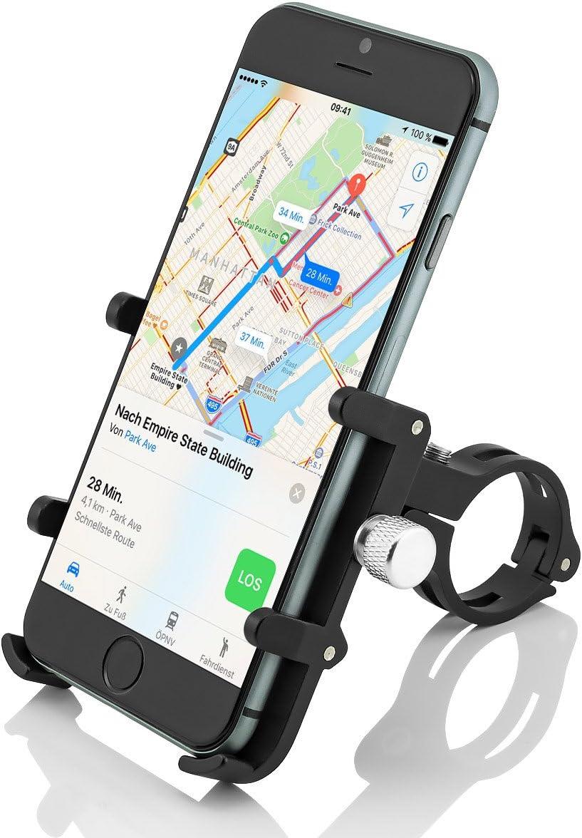 GUB Plus 6 Universal Bike Fahrrad Halterung f/ür Handy Smartphone Navi usw.