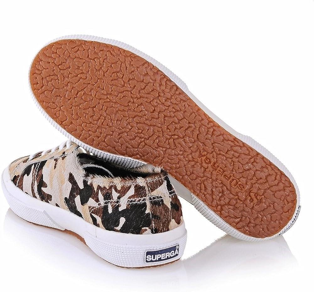 SUPERGA 2750-Leahorseu, Sneaker a Collo