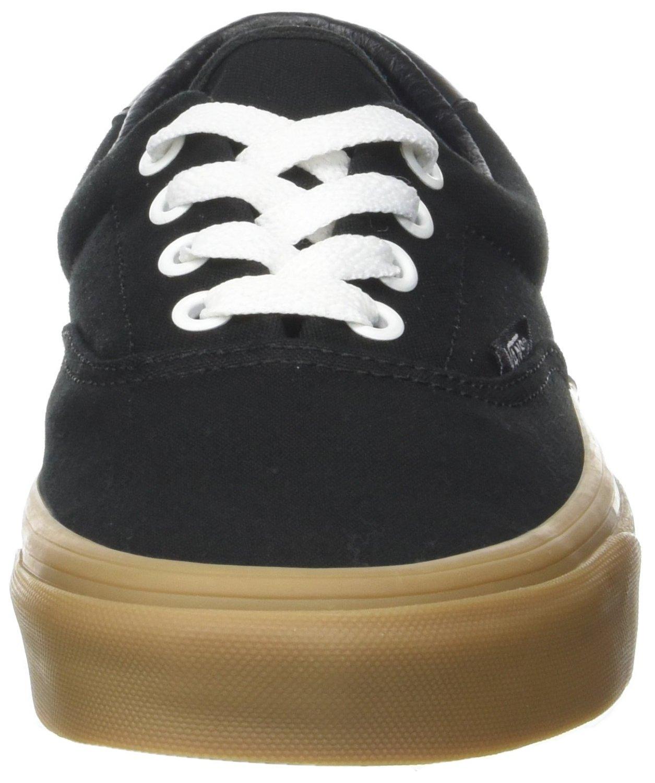 Vans Unisex Adults' Era 59 Canvas Gum Trainers, Black (Canvas Gum/Black/Light Gum), 10.5 UK 45 EU by Vans (Image #4)