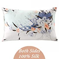 ZIMASILK 100% Natural Silk Pillowcase for Hair and Skin Health, with Hidden Zipper...