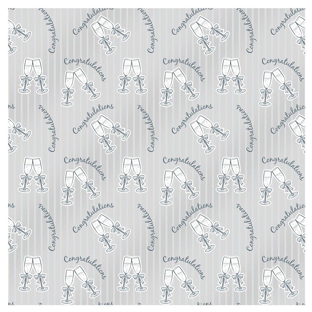 kitchen 41886 12ft Foil Elegant Wedding Banner Unique Industries Inc