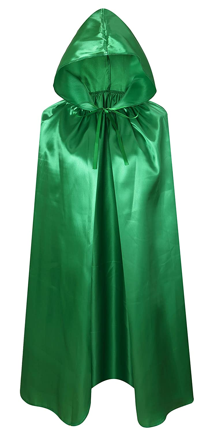 Crizcape Kids Costumes Cloak DIY Cape with Hood for Halloween Christmas Ages 2 to 18