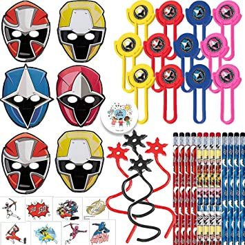 Amazon.com: Power Rangers Ninja - Pack de 12 lápices de ...
