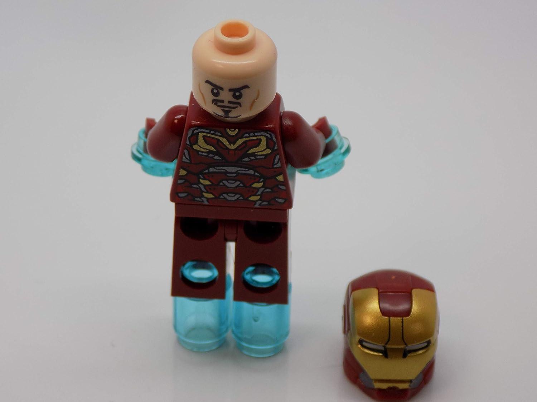 Lego Marvel Super Heroes Iron Man Mark 45 Minifigure 2015