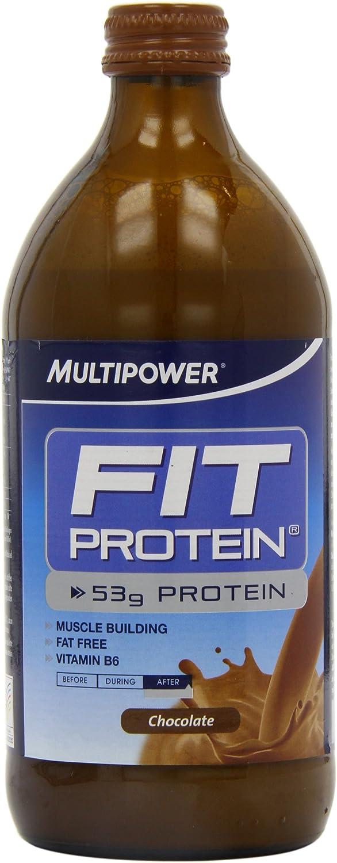 Multipower Fit Protein Chocolate Bebida Nutritiva - 12 Unidades