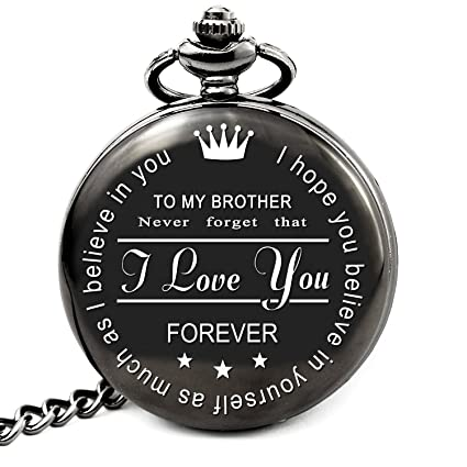 Amazon LEVONTA To My Brother Pocket Watch Gifts For