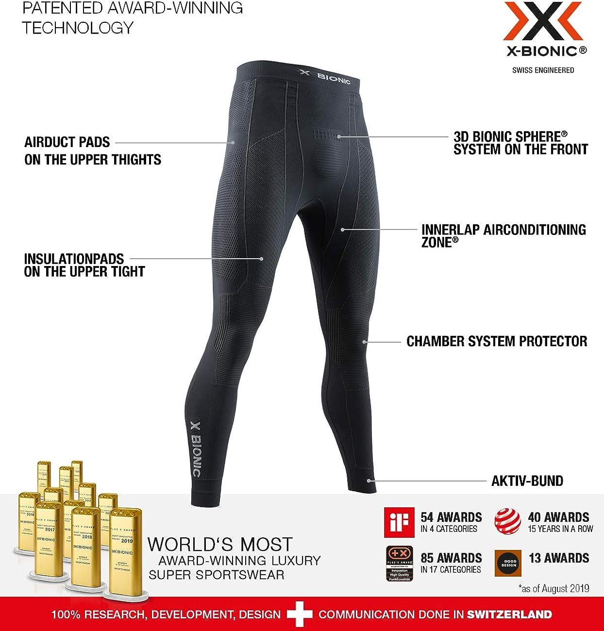 X-Bionic Moto Energizer 4.0 Light - Pants Hombre: Amazon.es: Ropa ...