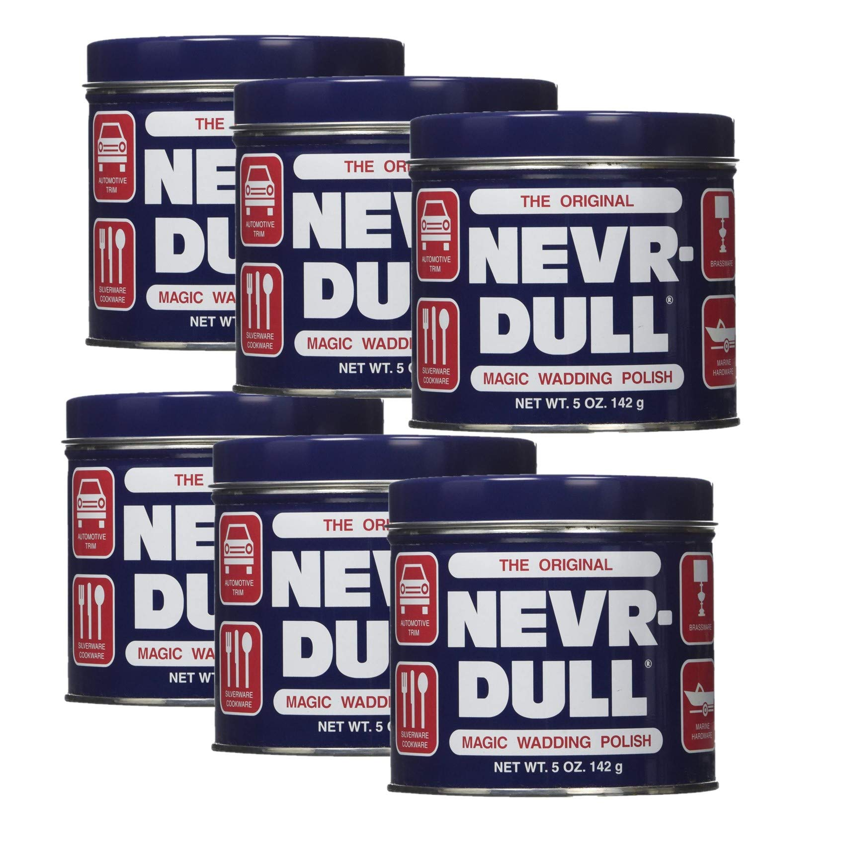 George Basch Nevr Dull Never Dull Polish 5OZ Pack of 6 by George Basch