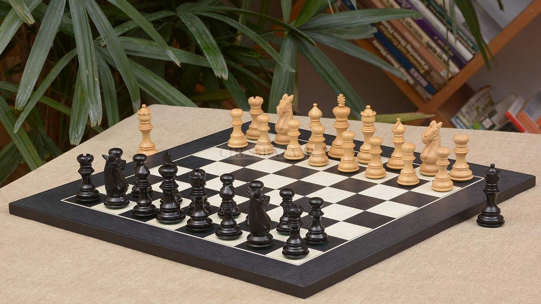 宅配 Chessbazaar Combo Of Anigre Of Meghdoot Staunton Series Chess Pieces & Black Black Anigre Maple Board B00VBLUOQ2, デザインアクセス:681c0555 --- arianechie.dominiotemporario.com