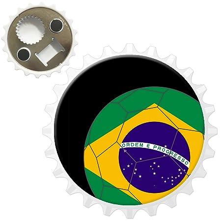 Compra Fancy A Snuggle Bandera de Brasil en balón de fútbol de ...