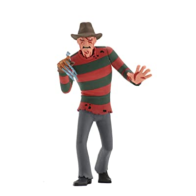"NECA Toony Terrors - Nightmare on Elm St - 6"" Scale Action Figure-Stylized Freddy Krueger: Toys & Games"