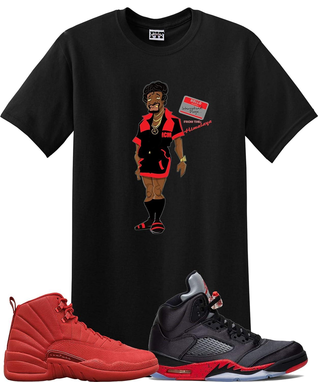 We Will Fit Jerome Shirt to Match Jordan 12 Gym Red Jordan 5 Satin Black University RED