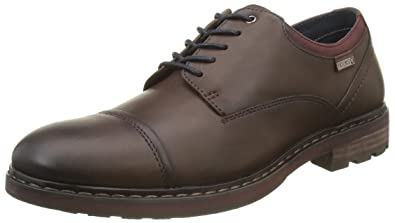 Caceres M9E I16, Chaussures Lacées Hommes, Marron (Olmo), 40 EUPikolinos