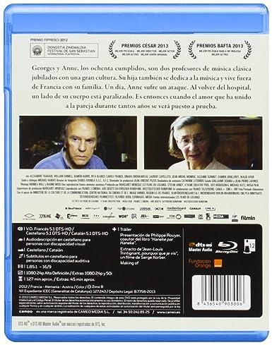 Amor [Blu-ray]: Amazon.es: Jean-Louis Trintignant, Emmanuelle ...