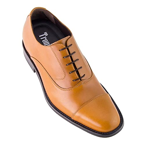 f997ea9274f2e Masaltos Zapatos de Hombre con Alzas Que Aumentan Altura Hasta 7 cm.  Fabricados EN Piel. Modelo Derbi  Amazon.es  Zapatos y complementos