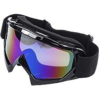 JVSISM Gafas de Esqui de Motocicleta Resistente a