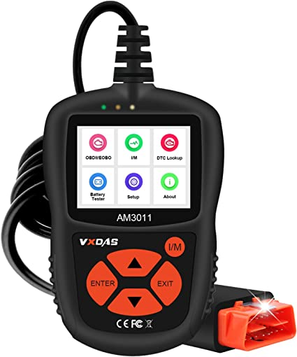 Smog Check of All CAN Fault Car After 1996 VXDAS OBD2 Scanner Car Diagnostic Scan Tool Check Engine Light Universal OBDII Code Reader