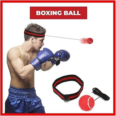 Pelota Boxeo, SGODDE Fight Ball Reflex en cadena con diadema para ...