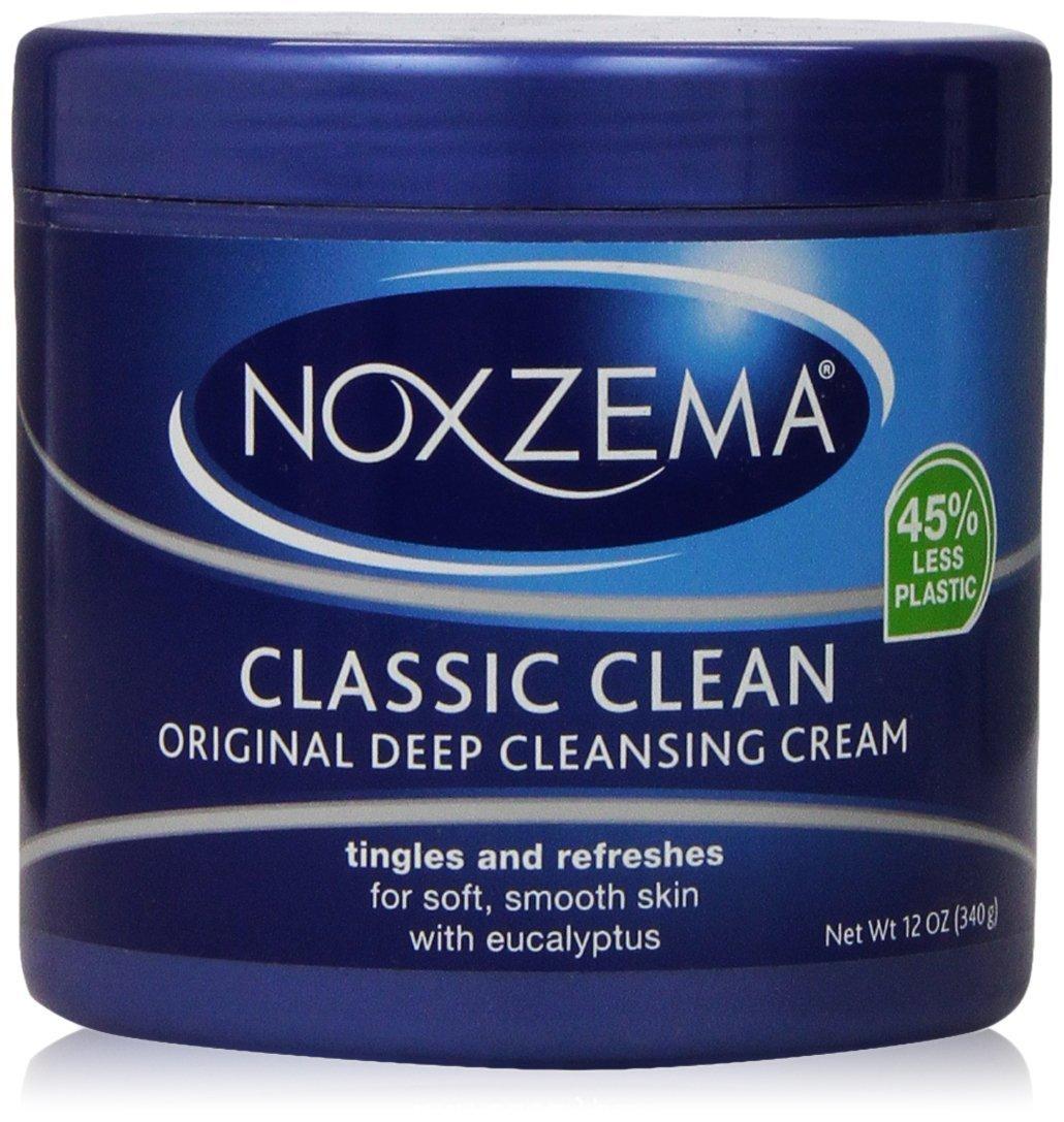 NOXZEMA Deep Cleansing Cream 12 Ounce, 2 Pack