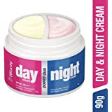 MIXIFY UNLOC POWER DUO Day & Night Cream. DAY CREAM (45g) with SPF 50, PA+++ & Vitamin B3; NIGHT CREAM (45g) with Hyaluronic Acid & Vitamin E. Light Weight & Non Sticky - Non Greasy Formula | Paraben Free | Sulphate Free | No Mineral Oil