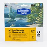 Backpacker's Pantry Dark Chocolate Cheesecake, Two Serving Pouch, (Packaging May Vary)