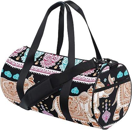 Travel Duffel Canvas Sports Fitness Bag Single Shoulder Hand Luggage Bag Female Travel Bag Beach Bag Multi-Function Luggage Bag Gym Sports Luggage Bag