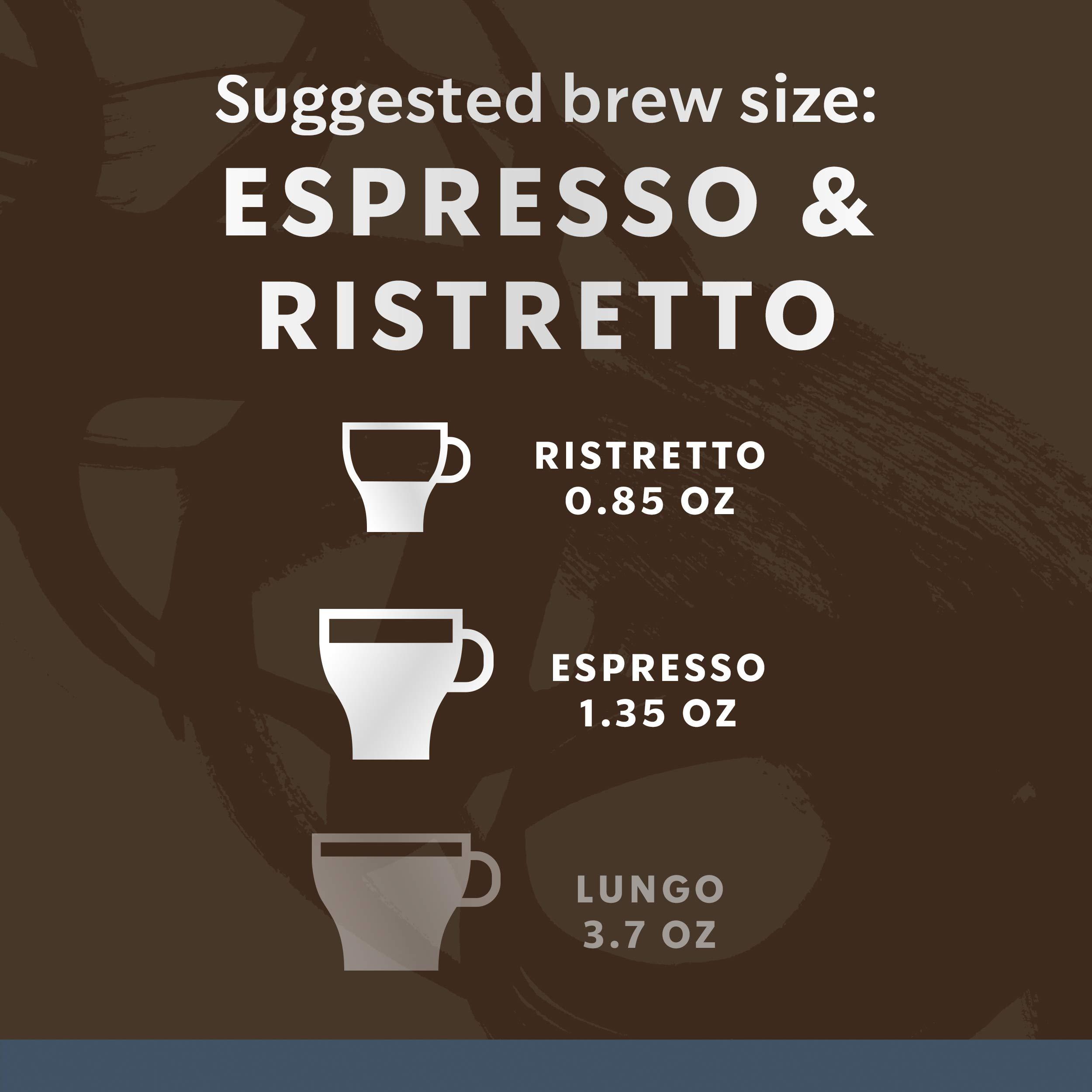 Starbucks by Nespresso, Espresso Dark Roast (50-count single serve capsules, compatible with Nespresso Original Line System) by Starbucks for Nespresso (Image #5)
