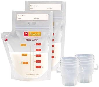 Amazon.com: Ameda Store n Pour leche bolsas de ...