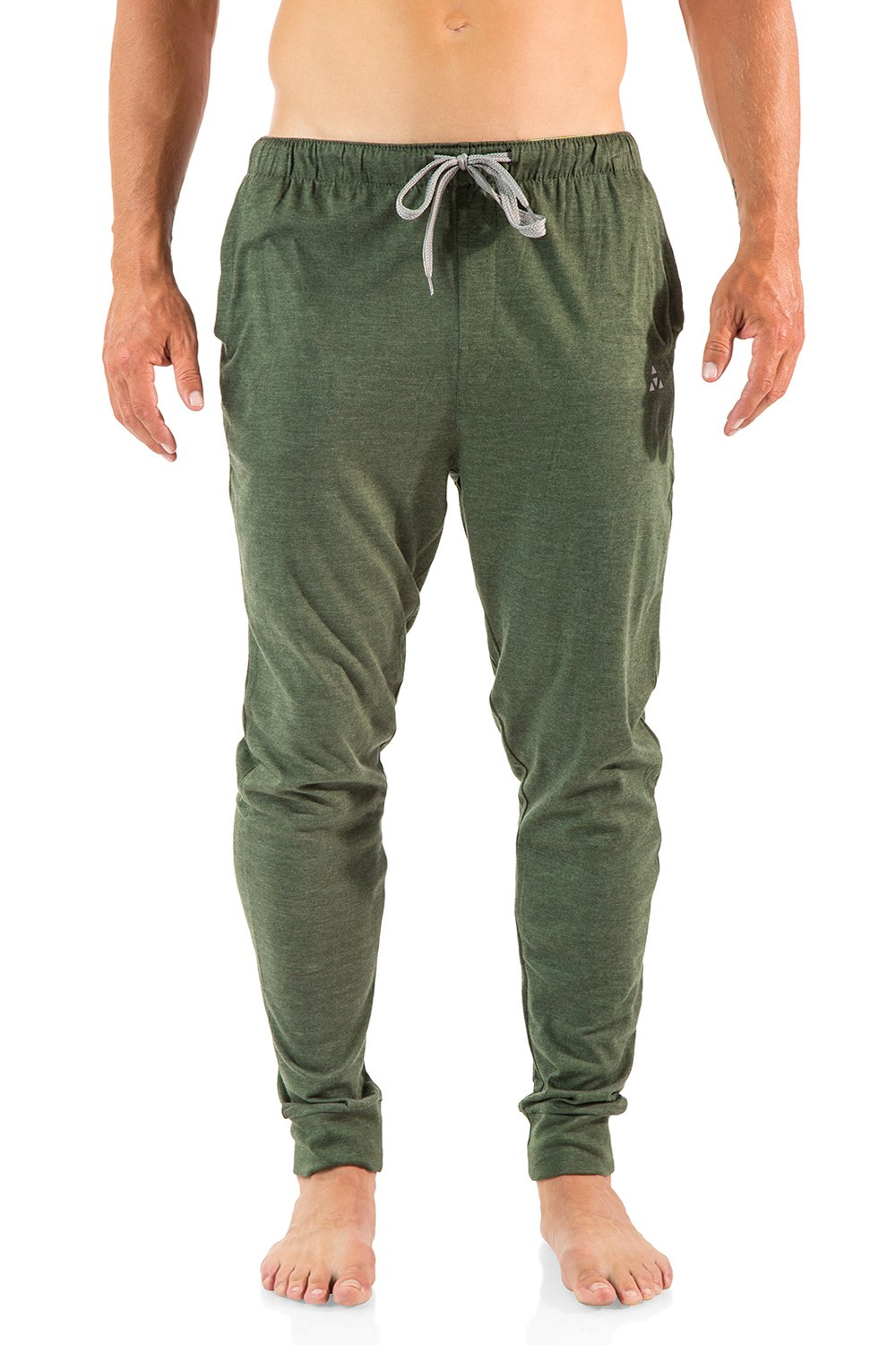 Balanced Tech Men's Cotton Knit Jogger Lounge Pants - Sage - XX-Large