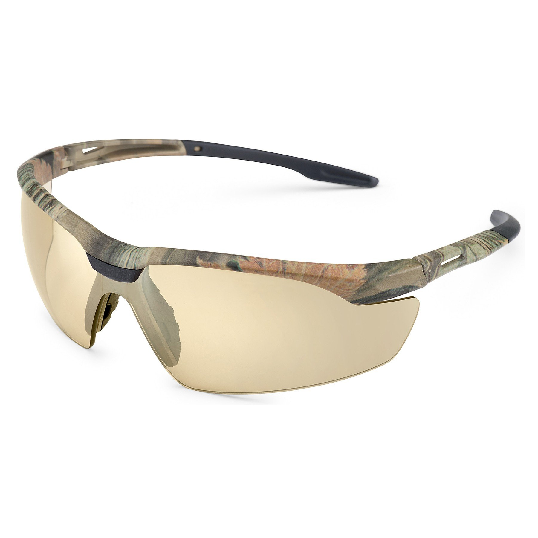 Gateway Safety Camo Conqueror Glasses in Bronze Anti-Fog Lens Color (6/Pack) - OSSG-SFTEYSG1000024593 -BRONZE by Miller Supply Inc